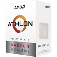 CPU AMD Athlon 3000G, 2-Core 3.5 GHz, 5MB/35W/AM4/BOX