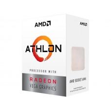 CPU AMD Athlon 200GE 2-Core, 4-Thread, 3.2 GHz Base, Socket AM4, 35W