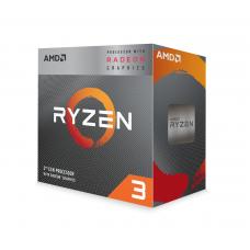 CPU AMD RYZEN 3 3200G 4-Core 3.6 GHz (4.0 GHz Turbo) 6MB/65W/AM4/BOX