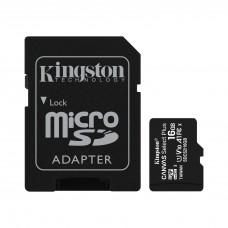 Memory card Kingston Canvas Select Plus  microSDHC 16GB, Class 10 UHS-I