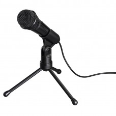 """Hama """"MIC-P35 Allround"""" Microphone for PC and Notebook, 3.5 mm Jack Plug"""
