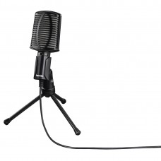 """Hama """"MIC-USB Allround"""" Microphone for PC and Notebook, USB"""