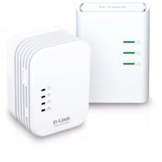 D-Link PowerLine AV 500 Wireless N Mini Extender, QoS, Common Connect Button, WPS, W311AV/E