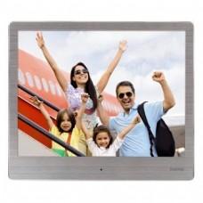 "Digital Photo Frame HAMA 8SLB 118560, 8"", Slim, Steel"