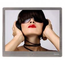 "Digital Photo Frame HAMA 97SLB 118561, 9.7"", Slim Steel"