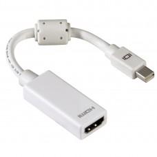 Adapter  HAMA 53246 Mini DisplayPort Plug- HDMI socket, Full HD
