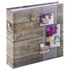 """Hama """"Rustico"""" Memo Album, for 200 photos with a size of 10x15 cm, lilac"""