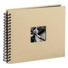 """Spiral-Album """"Fine Art"""", 36 x 32 cm for 300 pfotos, Taupe"""