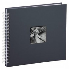 """Spiral-Album """"Fine Art"""", 28 x 24 cm for 100 pfotos, Grey"""