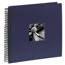 "Spiral-Album ""Fine Art"", 36 x 32 cm for 50 pfotos, blue"