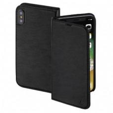 """Slim"" Booklet Case for Apple iPhone X, black"