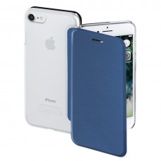 """Hama """"Clear"""" Booklet Case for Apple iPhone 7/8, dark blue"""