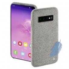 "Hama ""Cozy"" Cover for Samsung Galaxy S10, light grey"