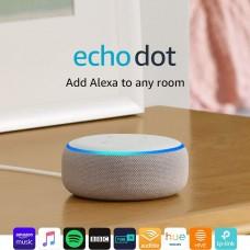 Amazon Echo Dot 3 Multimedia Speaker, Sandstone