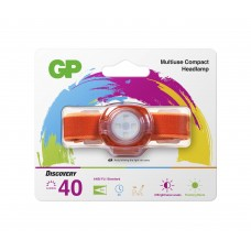 Headlamp / Lantern with light for KIDS GP BATTERIES CH31 40 lumens, Orange
