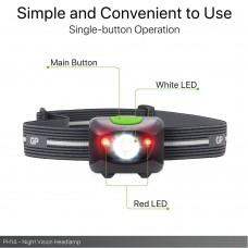 Headlamp / Lantern with light GP BATTERIES Prosumer Xplor PH14 Multi Purpose Red light Night vision 200 lumens