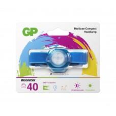 Headlamp / Lantern with light for KIDS GP BATTERIES CH31 40 lumens, Blue