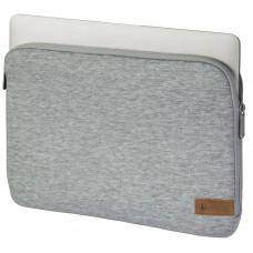 "Hama ""Jersey"" Notebook Sleeve, up to 40 cm (15.6""), light grey"