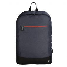 """Hama """"Manchester"""" Notebook Backpack, up to 40 cm (15.6""""), blue"""