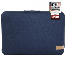 """Hama """"Jersey"""" Notebook Sleeve, up to 36 cm (14.1""""), Blue"""