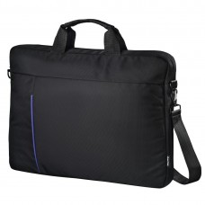 """Hama """"Cape Town"""" Notebook Bag, up to 40 cm (15.6""""), black/blue"""