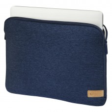 """Hama """"Jersey"""" Notebook Sleeve, up to 40 cm (15.6""""), blue"""