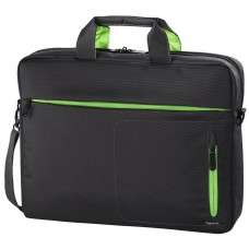 """Hama """"Marseille"""" Notebook Bag, up to 40 cm (15.6""""), grey/green"""