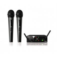 Wireless system with 2 microphones AKG WMS40 Mini Dual Vocal Set