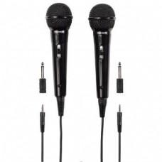 Dynamic Microphone HAMA Thomson M135D, 3.5mm, Black, pack of 2