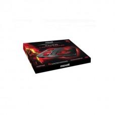 Gaming Laptop Cooler MAXELL Samurai, 4 fans, 2X USB 2.0 1X USB 3.0, Black