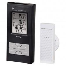 Electronic Weather Station HAMA EWS-165 92659, Black/Silver