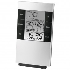 LCD Thermometer/Hygrometer HAMA TH-200, Black/Silver