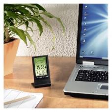 LCD Thermometer/Hygrometer  HAMA TH-100, Black
