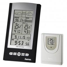 Electronic Weather Station HAMA  EWS-800 76045, Black/Silver