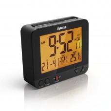 Radio Controlled Alarm Clock HAMA RC 550 113966,Black