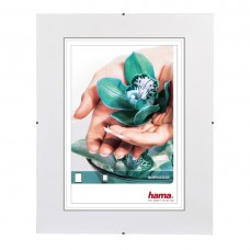 """Clip-Fix"" Frameless Picture Holder, normal glass, 50 x 70 cm"