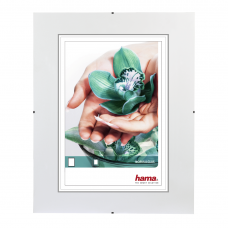 "Hama ""Clip-Fix"" Frameless Picture Holder, normal glass, 70 x 100 cm"