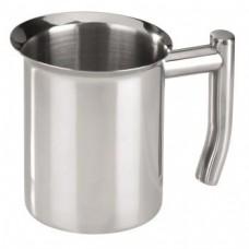 Milk Jug, stainless steel