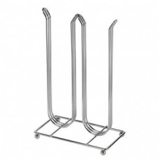 """Xavax """"Pilastro"""" Coffee Capsule Stand for Dolce Gusto, silver chrome"""