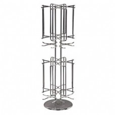 """Xavax """"Rondello"""" Coffee Capsule Stand for Dolce Gusto, silver chrome"""