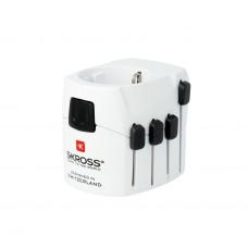 World Adapter SKROSS 1.103141, 100-250V, 6.3А