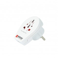 World Adapter SKROSS PRO 1302535 - World & USB